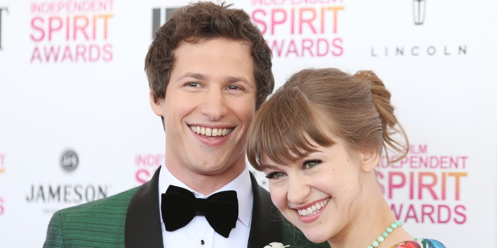 Funny Traditional Anniversary Gifts Andy Samberg Gave WIfe