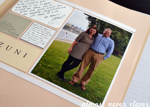 traditional Paper Anniversary gift ideas for her- scrapbook