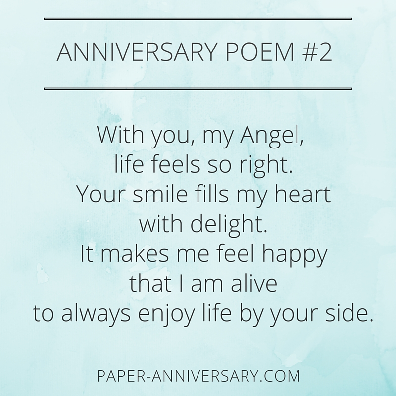St anniversary poems for husband pixshark