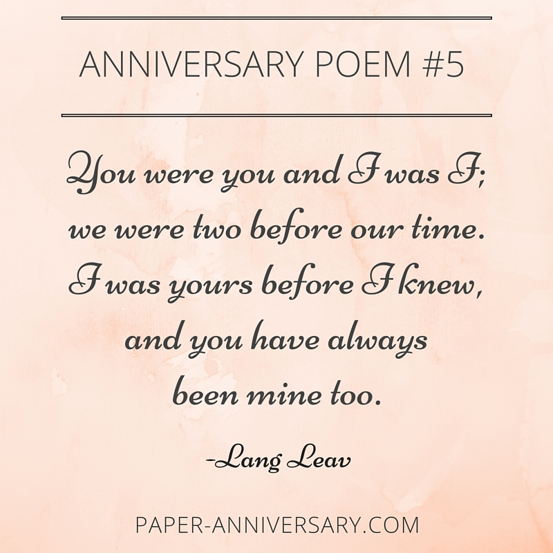 One Month Before Wedding Quotes: 10 EPIC Anniversary Poems For Him : Readers' Favorites