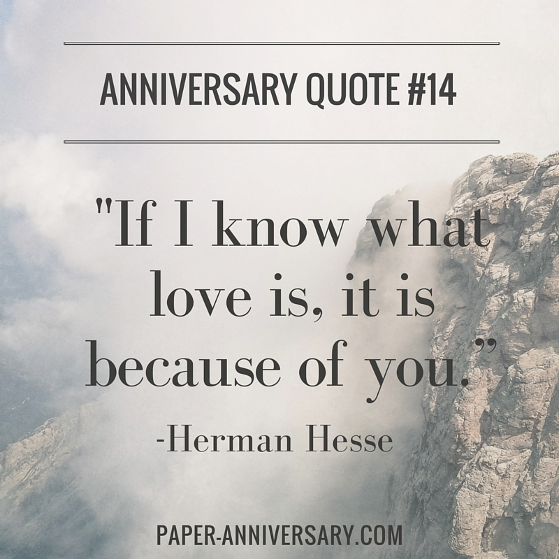 Quotes For Anniversary Mesmerizing 20 Perfect Anniversary Quotes For Him  Paper Anniversaryanna V.